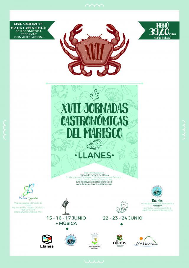 Cartel Jornadas Marisco Llanes 2018
