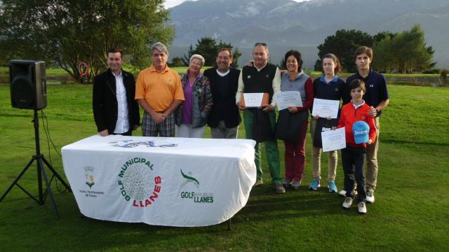 Ganadores II Trofeo de Golf Visitllanes
