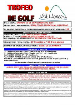 Gran éxito del II Torneo- Circuito de Golf Visit Llanes 2015