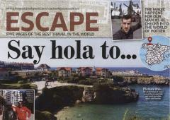 Llanes en el Sunday World- Magazine + de Irlanda