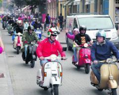 Comienza hoy la 3ª Concentración de Vespas y Lambrettas en Llanes