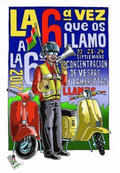 6ª Concentración de Vespas y Lambrettas
