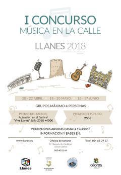 I Concurso de Música en la calle Llanes 2018