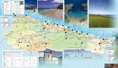 Mapa del Concejo de Llanes