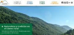 Nuevo portal web de Fomtur, Allares y Llanescor